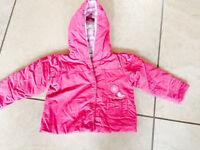 Girls coat - aged 9-12 months