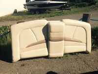Found, rear boat upholstery