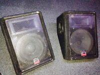 Floor monitors Warfdale Pro