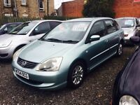 Honda Civic se 1.6. 54 reg 1 year mot excellent condition throughout