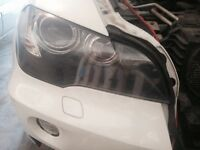 2007-2011 BMW X5 headlights