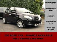 2013 Chrysler Ypsilon 1.2 SE, BLUE, PETROL, MANUAL, ?30 ROAD TAX