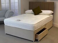 💎BRAND NEW DELUXE MEMORY FOAM & SPRUNG KINGSIZE,DOUBLE & SINGLE MATTRESSES FREE DELIVERY &PILLOWS