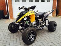 YAMAHA RAPTOR 700R 60TH ANNIVERSARY 65 REG ROAD LEGAL QUAD BIKE £2000 EXTRAS