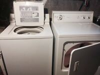 GOOD CONDITION WASHER/DRYED BUNDLE