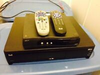 Bell HDTV 2 pvr with dish records 200 hours