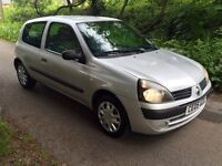 05 Renault Clio 1.2 Rush 8v 3dr - Ideal 1st Car with Long MOT