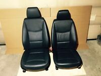 *** Original BMW black Dakota front seats for E90/E91 ***
