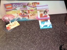 lego friends emmas lifeguard