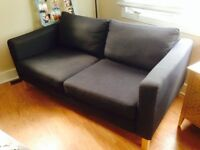 Dark grey couch