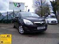 Vauxhall Meriva EXCLUSIV 1.4i 16v VVT Turbo (140PS)(a/c)