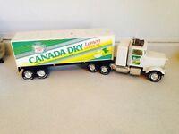 "Vintage 24.5"" Lylint Canada Dry Die Cast Truck"