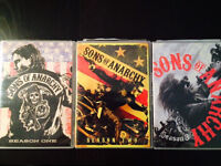 Sons of Anarchy Seasons 1, 2 & 3