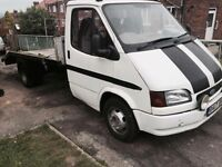 Ford transit recovery truck 2.5 DI long mot ready to work