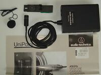 AUDIO TECHNICA AT-831B LAVALIER/LAPEL MICROPHONE