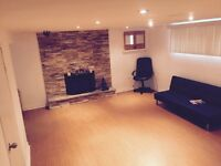 Beautiful bright and clean the basement apartment in Scarborough