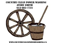 Country Clean Power Washing