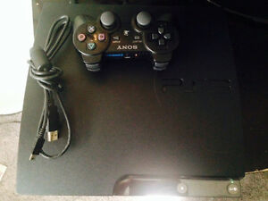 PS3 console & controller