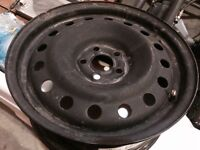 16x6 5x100 spare steel wheel. Almost brand new. $50