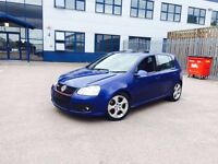 2005 (55) Volkswagen Golf GTI Blue 5DR HEATED LEATHERS & SUNROOF!! 2 Previous Owners