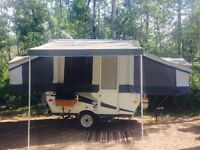 For sale 2013 Palomino tent trailer