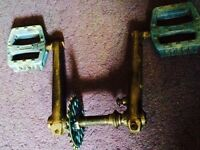 3 piece crank for bmx from a norco