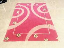 Girls Pink Flower Floor Rug (1.7m x1.2m) R$159.00 Dalkeith Nedlands Area Preview