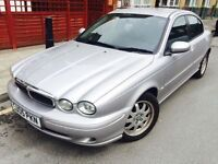 2005 JAGUAR X TYPE DIESEL FULL 1 YEAR BRAND NEW MOT