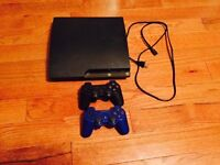 250GB PS3 with some new and classic games