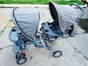 Graci Duo Glider double baby stroller