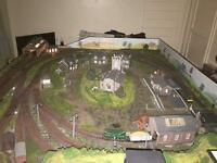 Model Railway Layout OO gauge