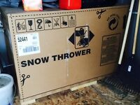 Brand new craftsman snowblower for sale