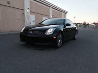 2007 Infiniti G35 Coupe 6M/T Rev-Up Edition *LOW KMS*