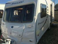 Bailey pageant monarch with motor mover 2 berth 2010 model touring caravan