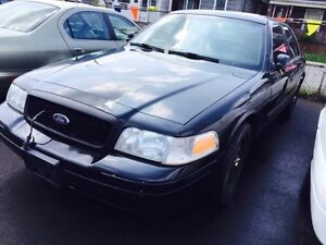 2011 FORD CROWN VIC EX POLICE CARS CERTIFIED ETESTED