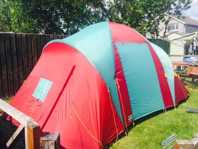 Tent Lichfield Condor 4 man 2 bedroom tent & Tent: Lichfield Condor 4 man 2 bedroom tent | in Troon South ...
