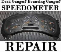 Speedometer sticky/non functioning gauge/Mobile Repair Services!