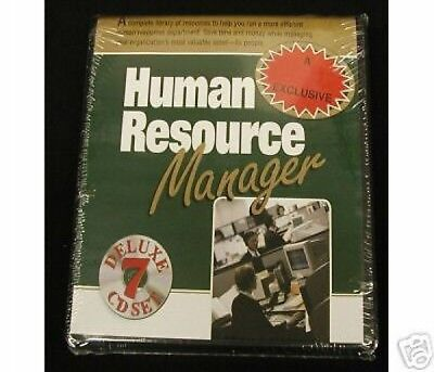 Made Ez Software - MADE EZ HUMAN RESOURCE MANAGER DELUXE 7CD SET free ship