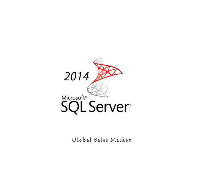 Microsoft Sql Server 2014 Standard Edition Server R2 W/20...