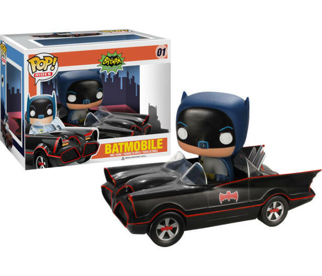 Batman - Batman with 1966 Batmobile Pop! Ride Vinyl Figure