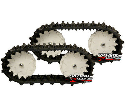 Large Robot Track Kit Tracks Crawler Tank Treads Drive Wheels Cogs Skid Steer