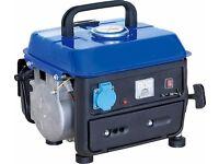 petrol 2stroke generator portable ((like new)) 240v