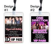 One Direction VIP PASSES