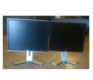 MONITORS HP LCD  19 and 20 inches;  BOTH GOOD CONDITION