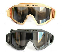 Tactical US military goggles revision desert locust sunglasses o