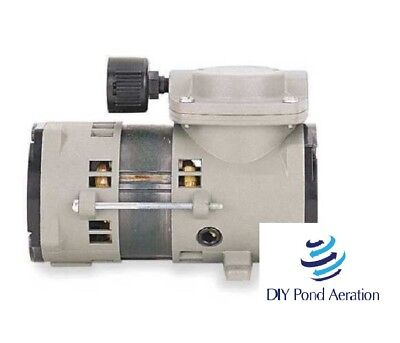 New Oem Thomas 107cab18 25psi Compressorvacuum 22.1hg Max0.1 Hp60 Hz115v