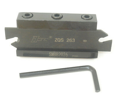 Zqs263spb326 Grooving Parting Blade Smbb2026 Cut Off Block Tool Holder