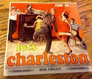 VINTAGE. 33 RPM VINYL. COME ON......LET'S CHARLESTON Gatineau Ottawa / Gatineau Area image 1