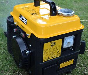 petrol inverter generator JCB YK1000i 230v 850W MAX900W Generator Power 2 Stroke