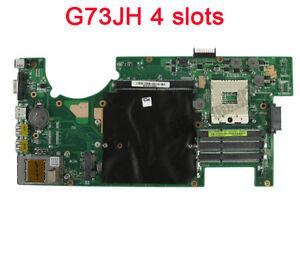 For ASUS G73JH G73J G73 Motherboard 60-NY8MB1200 MainBoard 4 Slots Rev2.0 USA